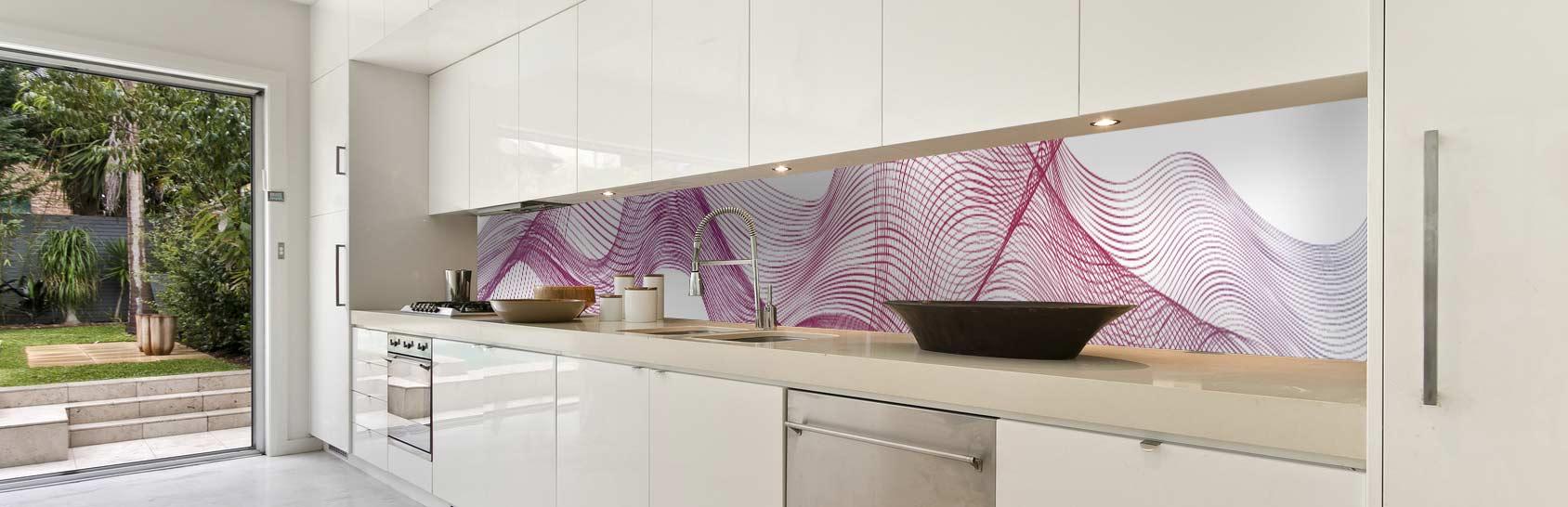 Fototapeta do kuchyne vlna