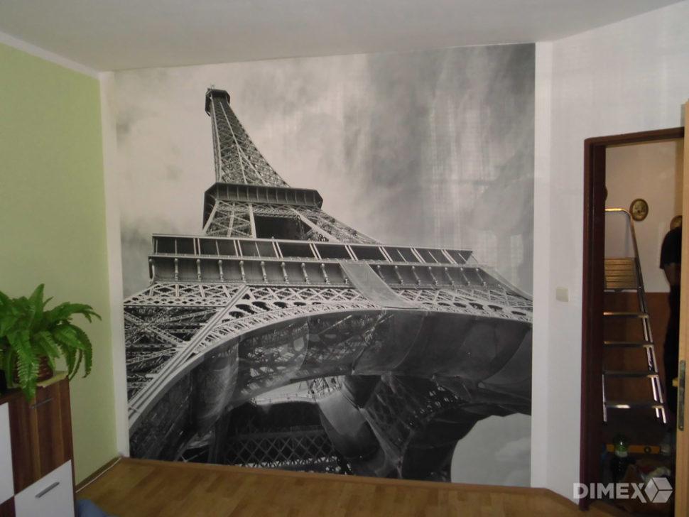 Fototapeta Eiffelovka - referencia