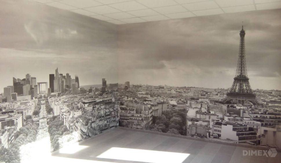 Fototapeta - panoráma Paríž