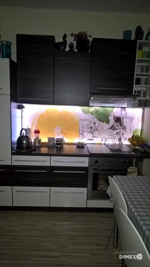 Kuchynská fototapeta - citrony
