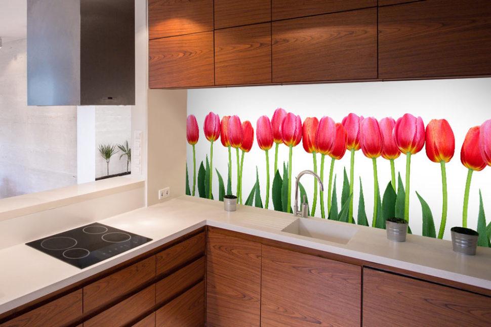 Fototapeta dokuchyne tulipány