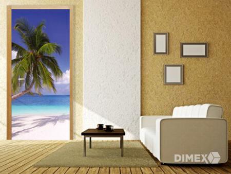 Fototapeta na dvere pláž